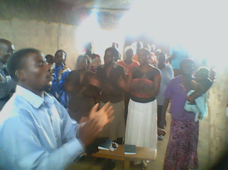 PASTOR ABRAHAM IN THE ART OF SINGING.