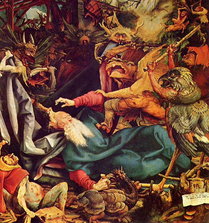 The temptation of saint anthony dali