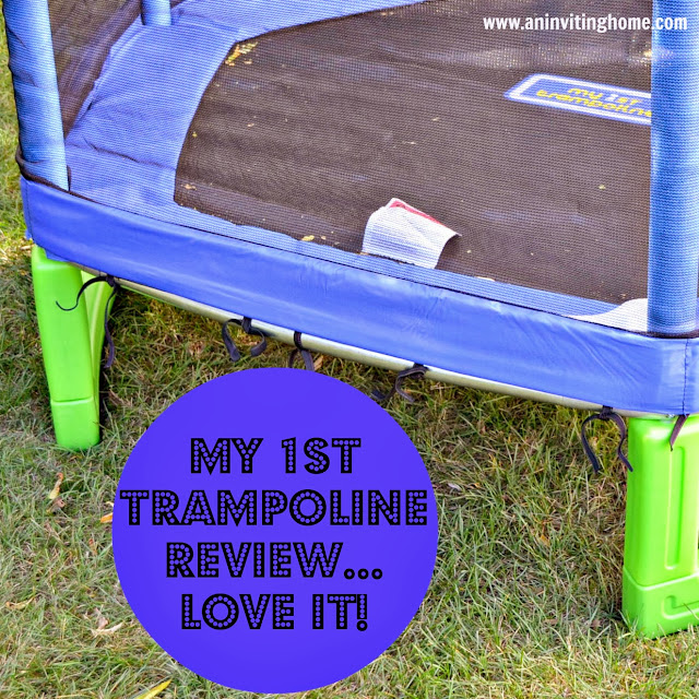 My 1st Trampoline Review