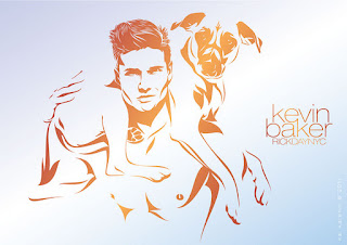 Kevin Baker by Kai Karenin. Vector Illustration