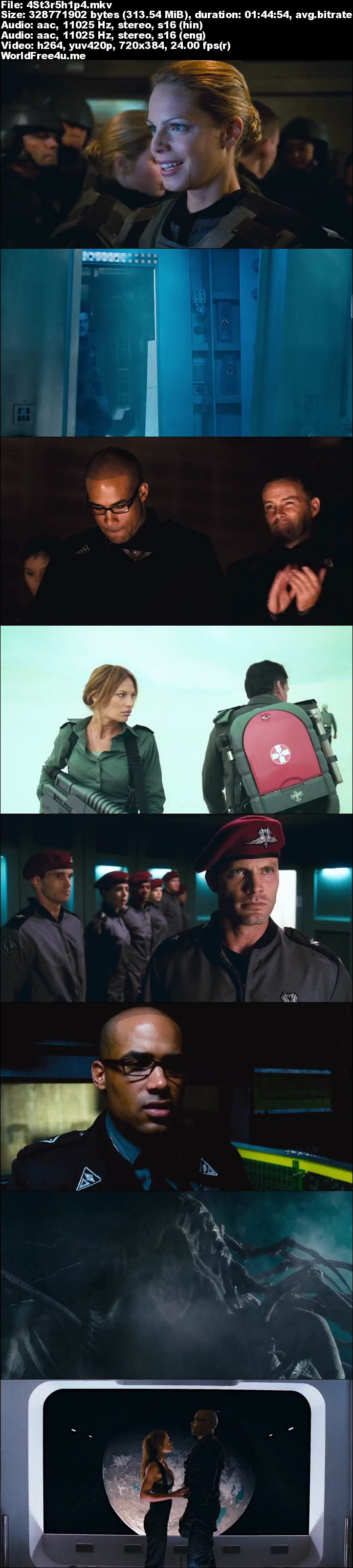 Screen Shot Of Starship Troopers 3 2008 Full Movie Download 300MB In Hindi 480P ESubs Full small Size PC Movie