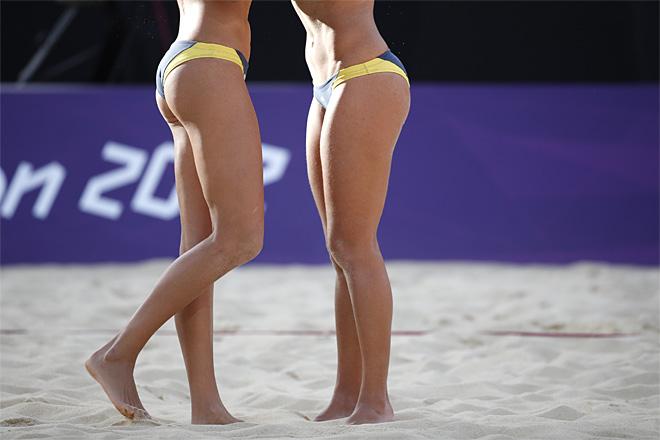Brazil womens olympic beach volleyball team