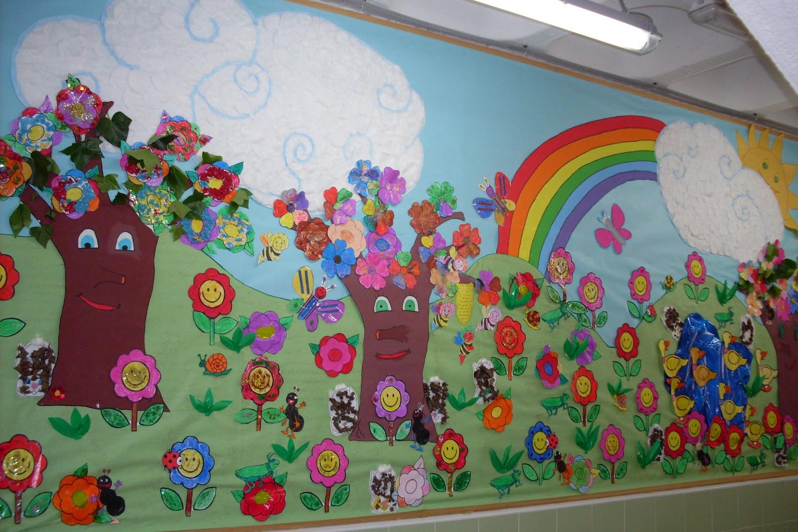 Blog de educaci n infantil bienvenida primavera for Decoracion primavera infantil