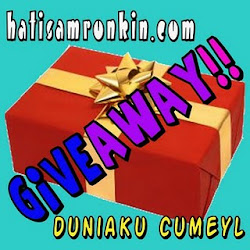 Giveaway Duo by Duniaku & Hatisamronkin