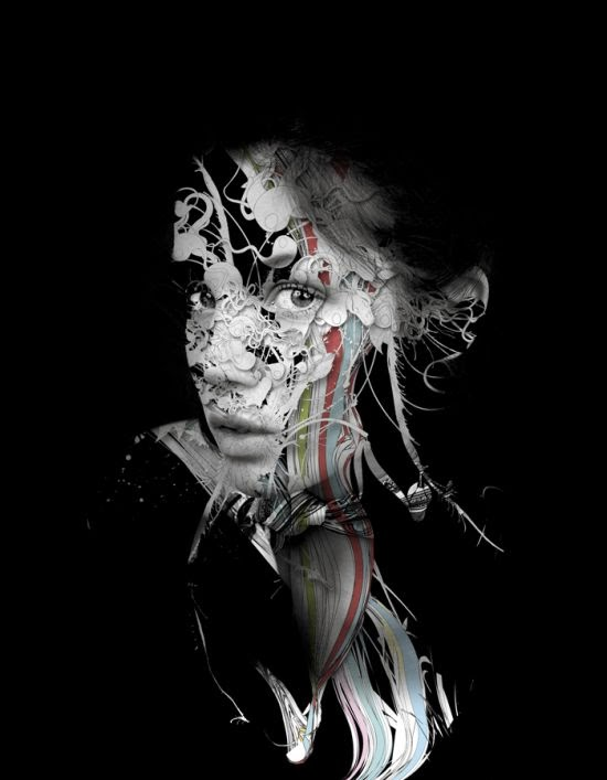 Alberto Seveso photography photoshop fashion sensual sexy women female models texture body painting tattoo