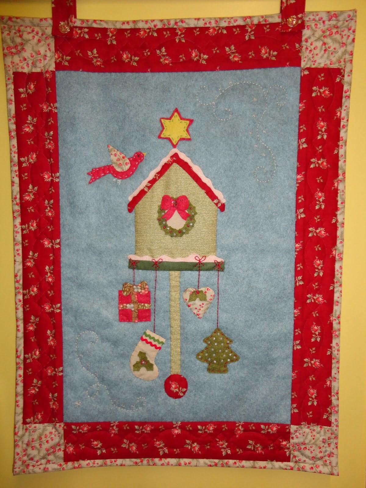 Vogelhuisje in kerst style