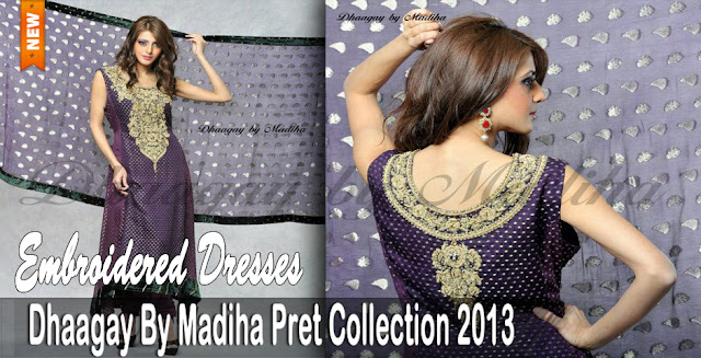 Formal Wear | Dhaagay Pret Spring-Summer Collection 2013