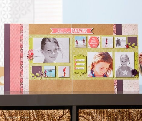 April Featured Scrapbooking kit