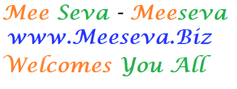 Meeseva Welcomes You All