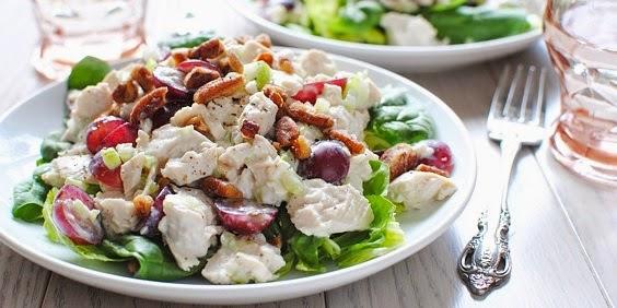 Salad with Yogurt Recipe