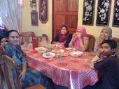 At rumah Nenek Shu....Kuala Kangsar..:-)