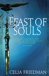 Feast of Souls by Celia Friedman fantasy book cover
