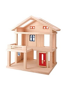 MyHabit: Save Up to 60% off Dollhouses + Decor by Plan Toys: Terrace Dollhouse - Large-scale  dollhouse featuring removable partitions, windows and doors; open from  all sides for group play; 3 stories with skylights.