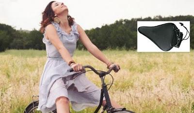 asiento vibrador para bicis