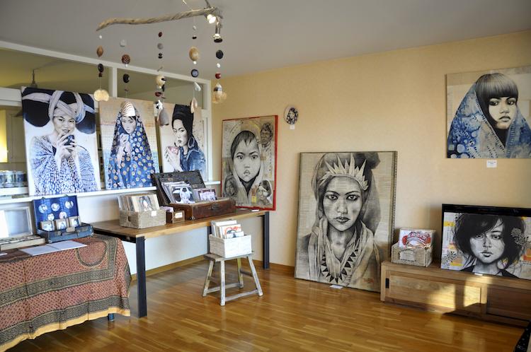 St phanie ledoux portes ouvertes d 39 atelier - Atelier chardon savard portes ouvertes ...