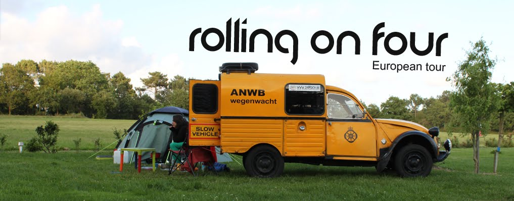Rolling on four - European tour