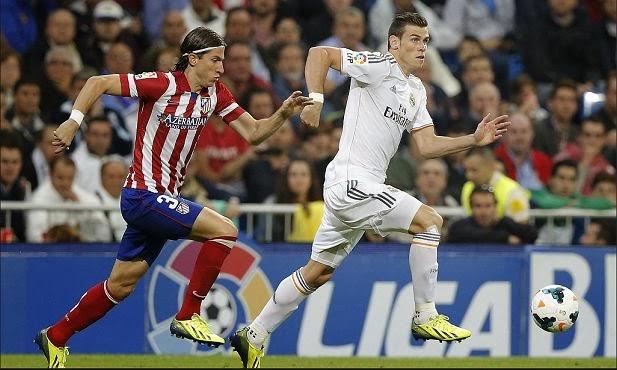 Atletico Madrid vs Real Madrid La Liga March 2014