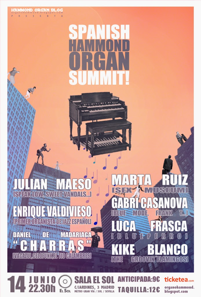 Spanish Hammond Organ Summit!