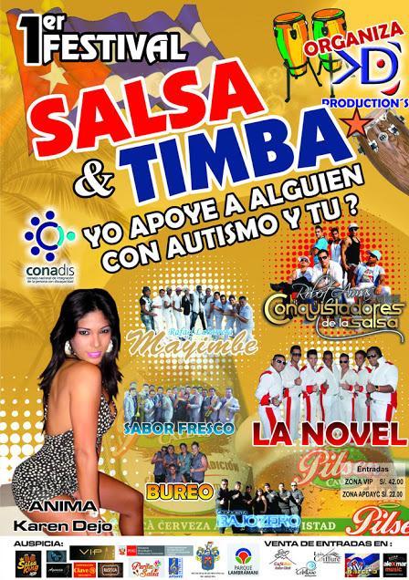 Primer Festival de Salsa, Timba y Rumba Arequipa 2013 (15 junio)