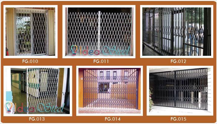 Folding Gate Idea Steel