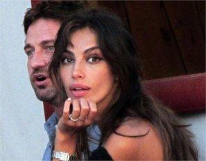 ... Fassbender's definitely dating Gerard Butler's ex, Madalina Ghenea