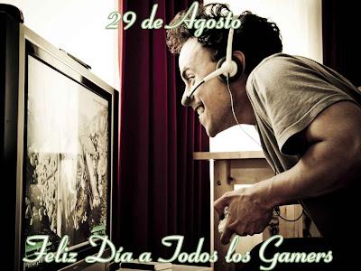 29 de Agosto Feliz Día del Gamer