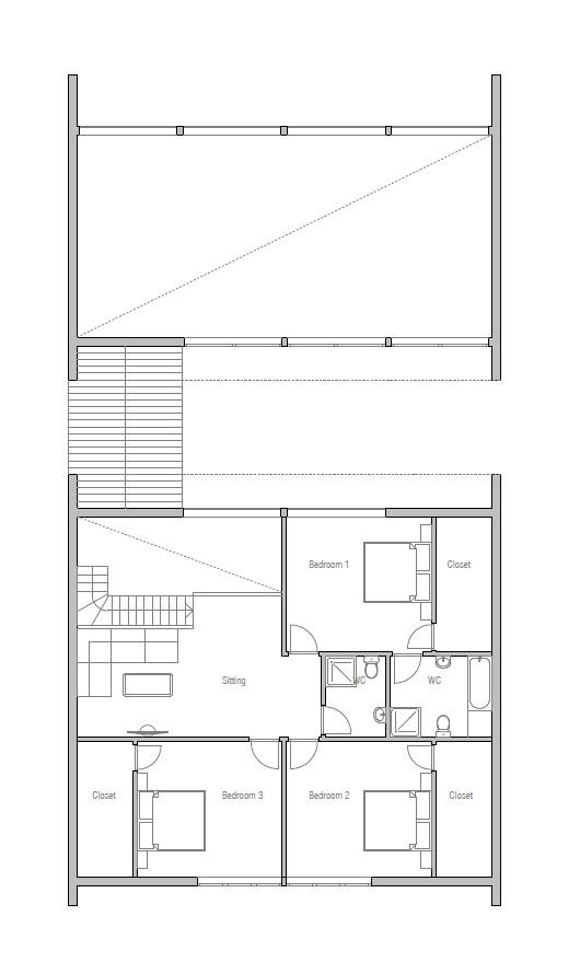 Australian house plans australian house plan ch112 for Modern floor plans australia