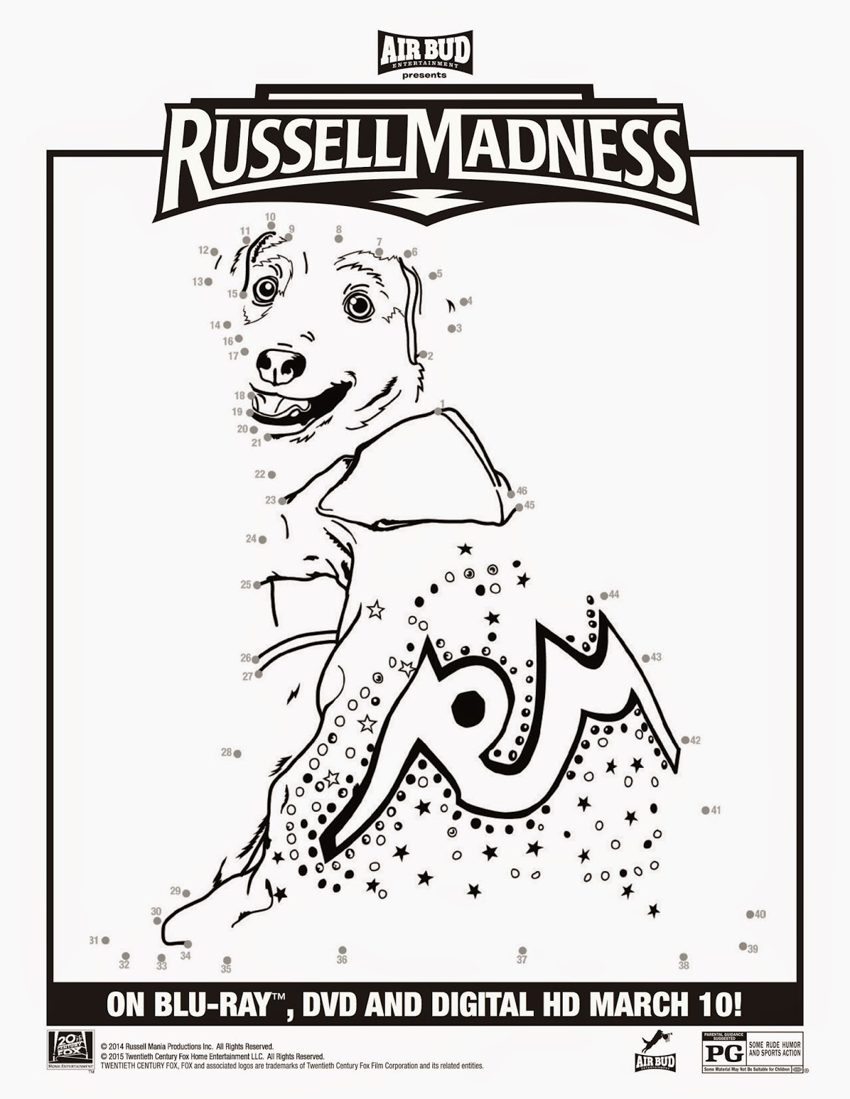 Russell Madness Printables