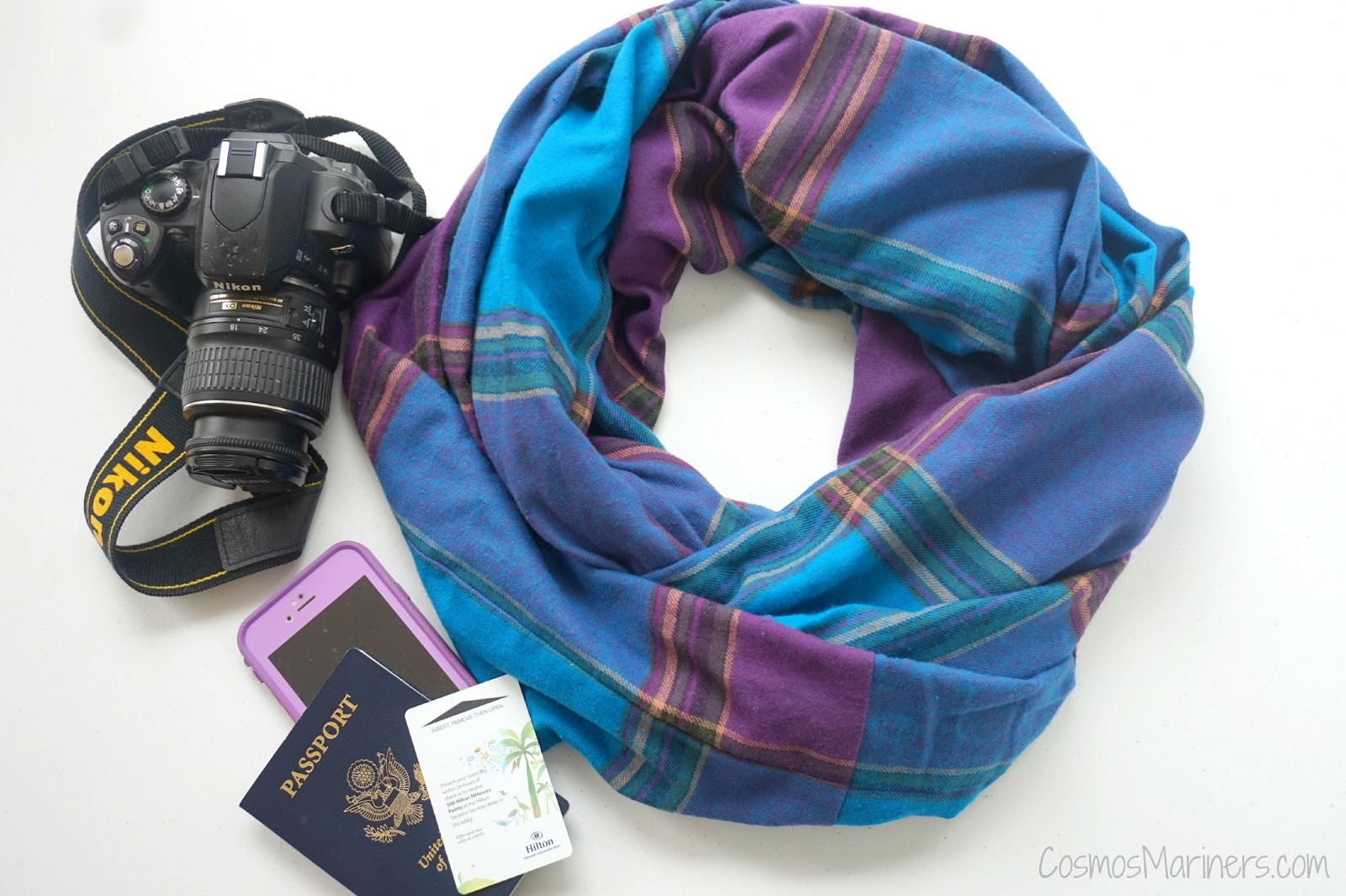A traveler 39 s must have accessory travel scarf with secret pocket cosmos mariners destination for Travel scarf
