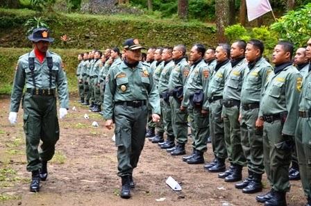 Apel siaga pengamanan hutan dan kesemaptaan Divisi Regional Jawa Barat & Banten tahun 2014
