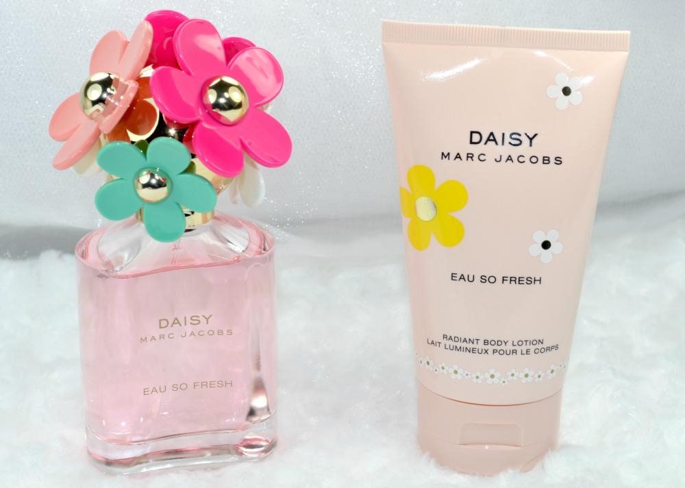 Marc Jacobs Daisy Eau So Fresh Delight and Daisy Eau So Fresh Radiant Body Lotion