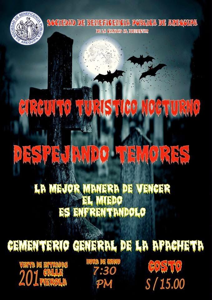 Circuito turístico nocturno 'Cementerio La Apacheta' - 29 de mayo