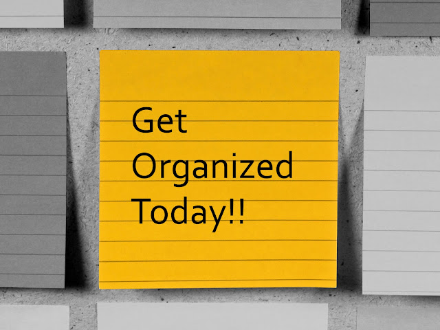 Get organized today