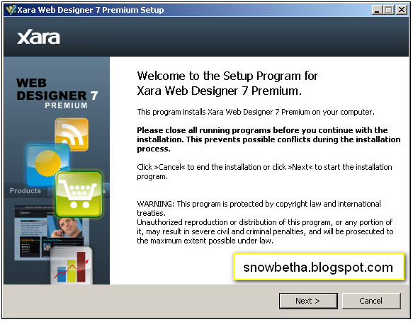 Membuat Design Template Website - Snow Betha