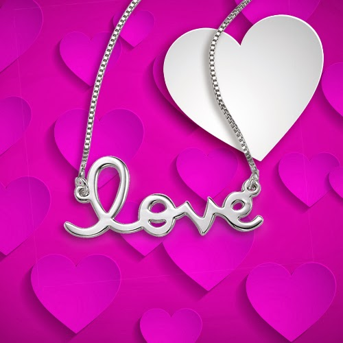 Love Necklace for Valentine's Day 1