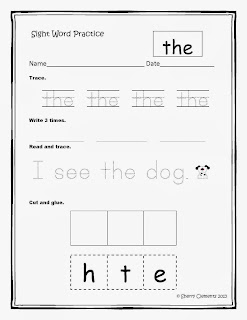 http://www.teacherspayteachers.com/Product/Sight-Word-Practice-Set-1-Common-Core-761962