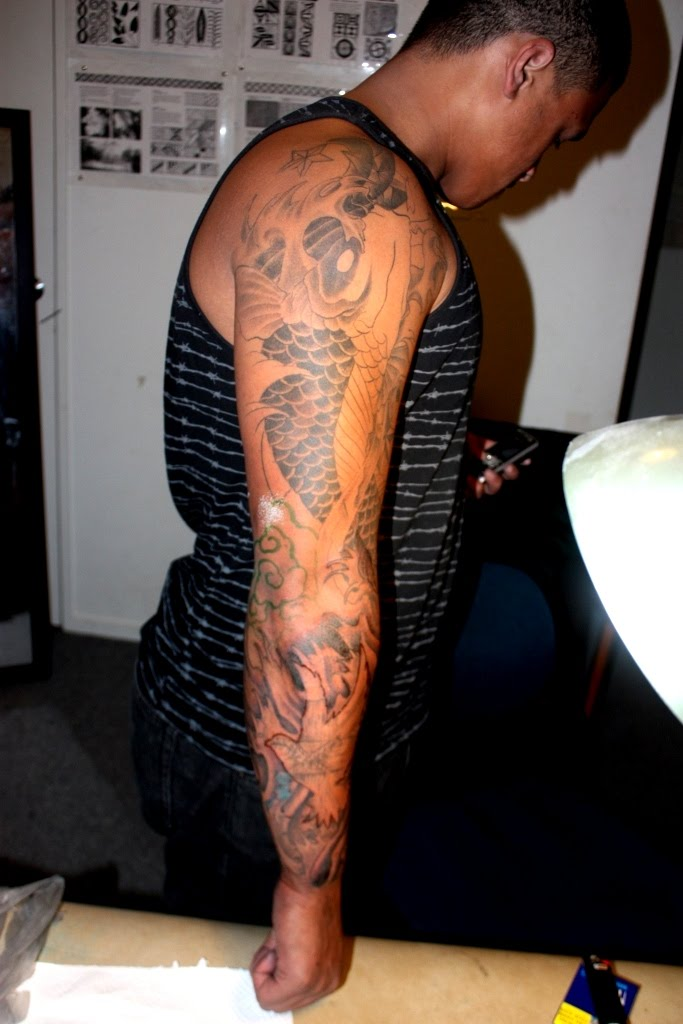urban sleeve tattoos