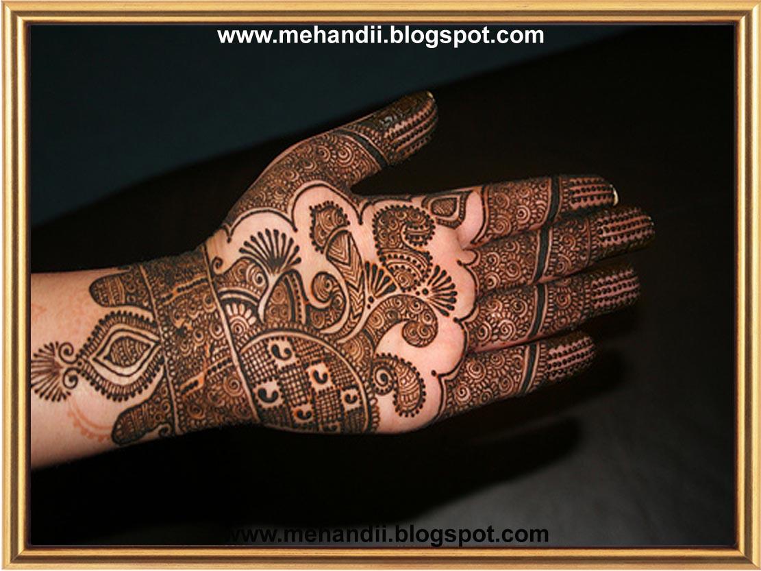 Mehndi Designs For Dulha : Mehndi design dulhan mehandi part
