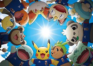 Adidas y Pokemon alentaran a Japon en el mundial Brasil 2014