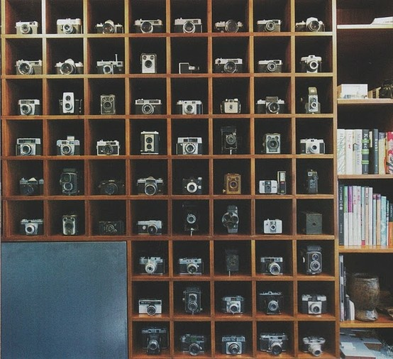 If You Do Have A Large Collection Of Something Like Vintage Cameras, It Is  Best To Display Them In A Systematic Way, In A Custom Made Display Case  Like This ...
