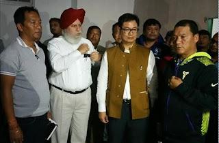 Binoy Tamang, SS Ahluwalia Bimal Gurung in Mirik