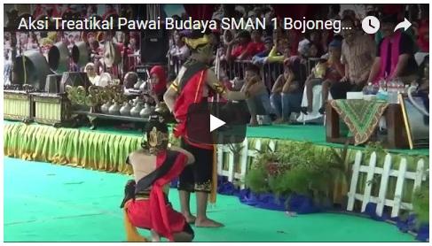 Pawai Budaya SMAN 1 Bojonegoro