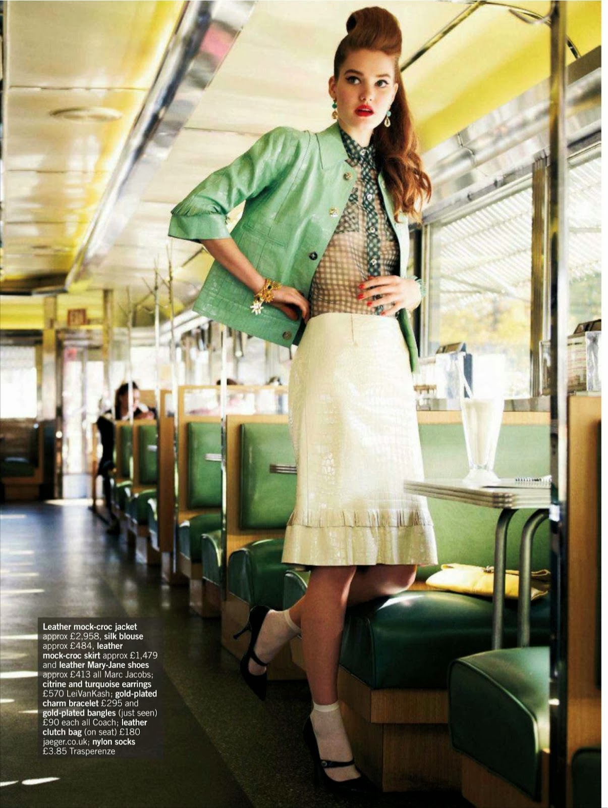 Chic S Style Editorial In Glamour Uk Magazine