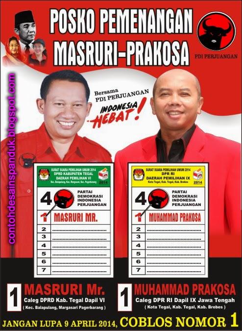 Baliho Sosialisasi Posko Caleg