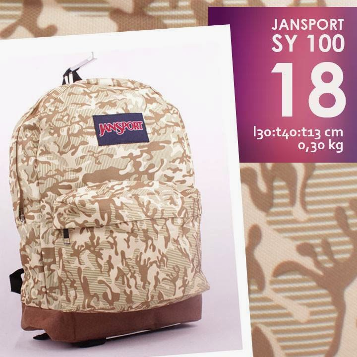 jual online tas ransel jansport murah motif terbaru  army/ loreng