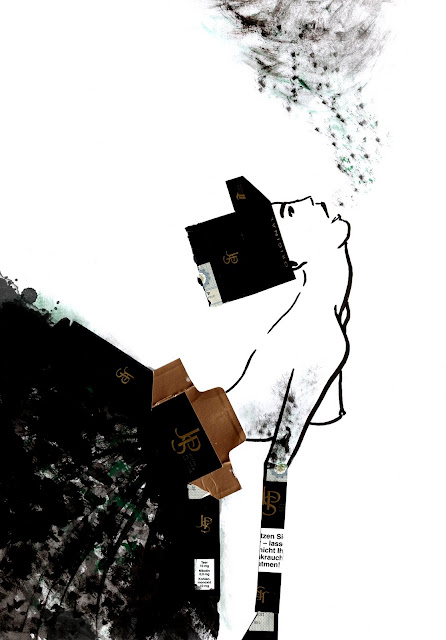 Illustration: Dress for addiction