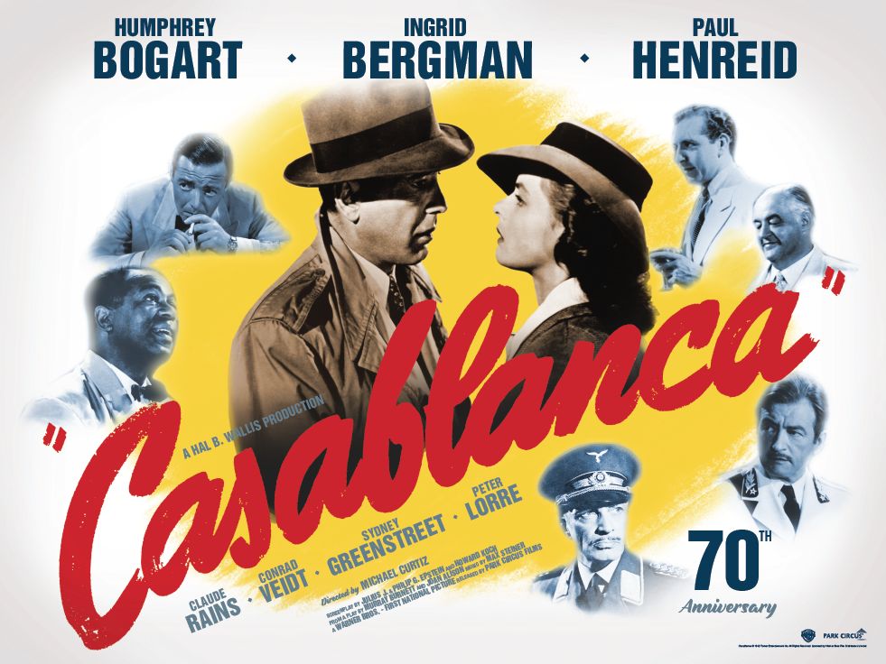 casablanca movie review All film reviews film reviews - by decade  film reviews - most popular it is revealed that they are looking down the main runway of the casablanca airport.