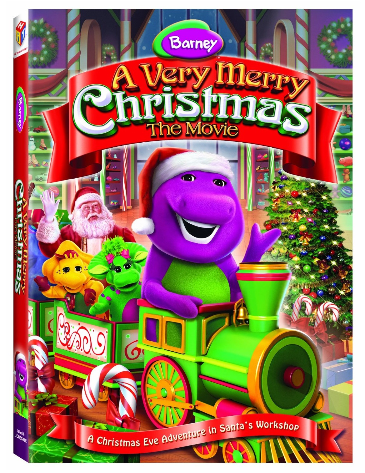 Thanks, Mail Carrier | Barney: A Very Merry Christmas - The Movie ...