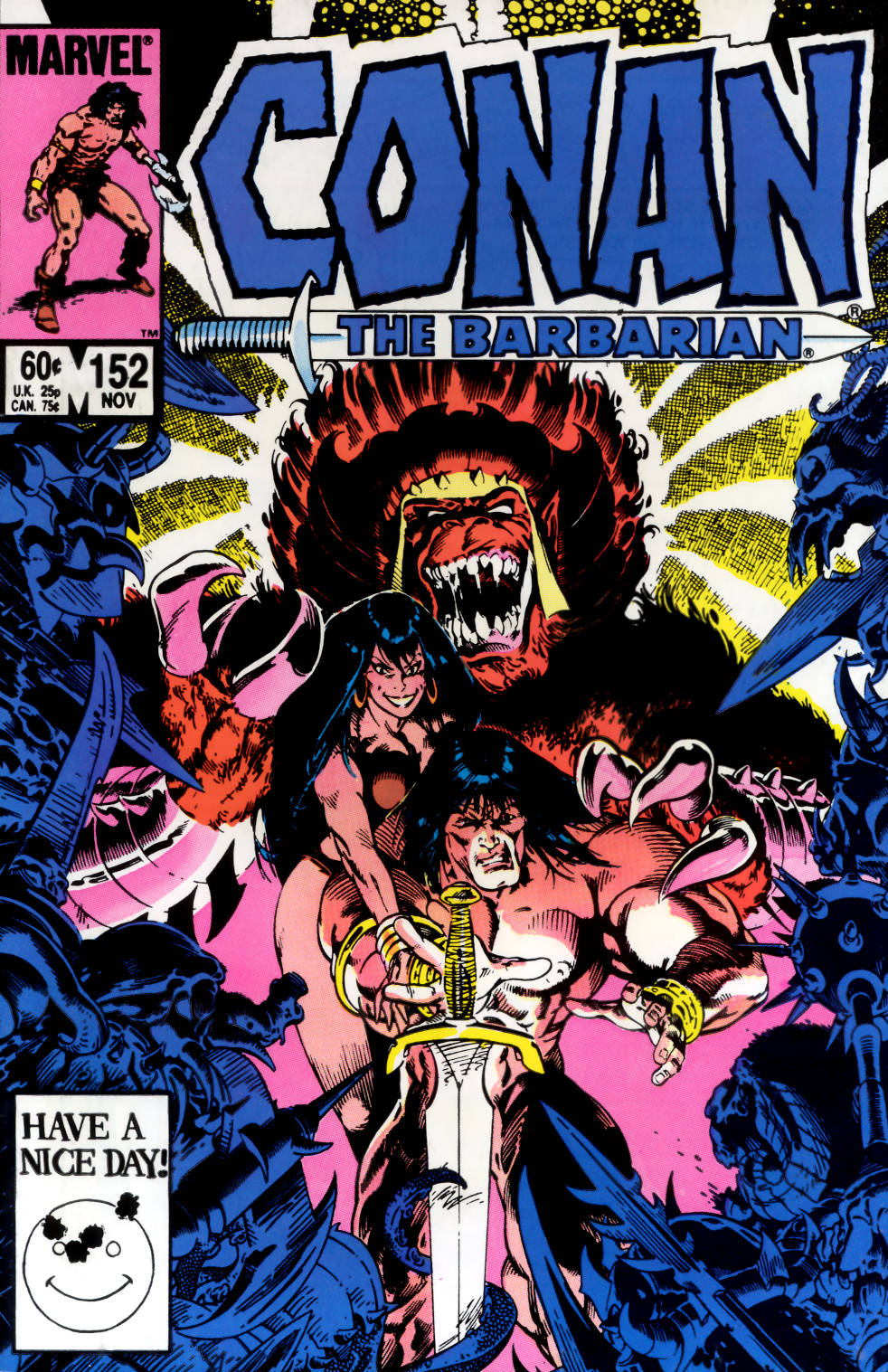 Conan the Barbarian (1970) Issue #152 #164 - English 1