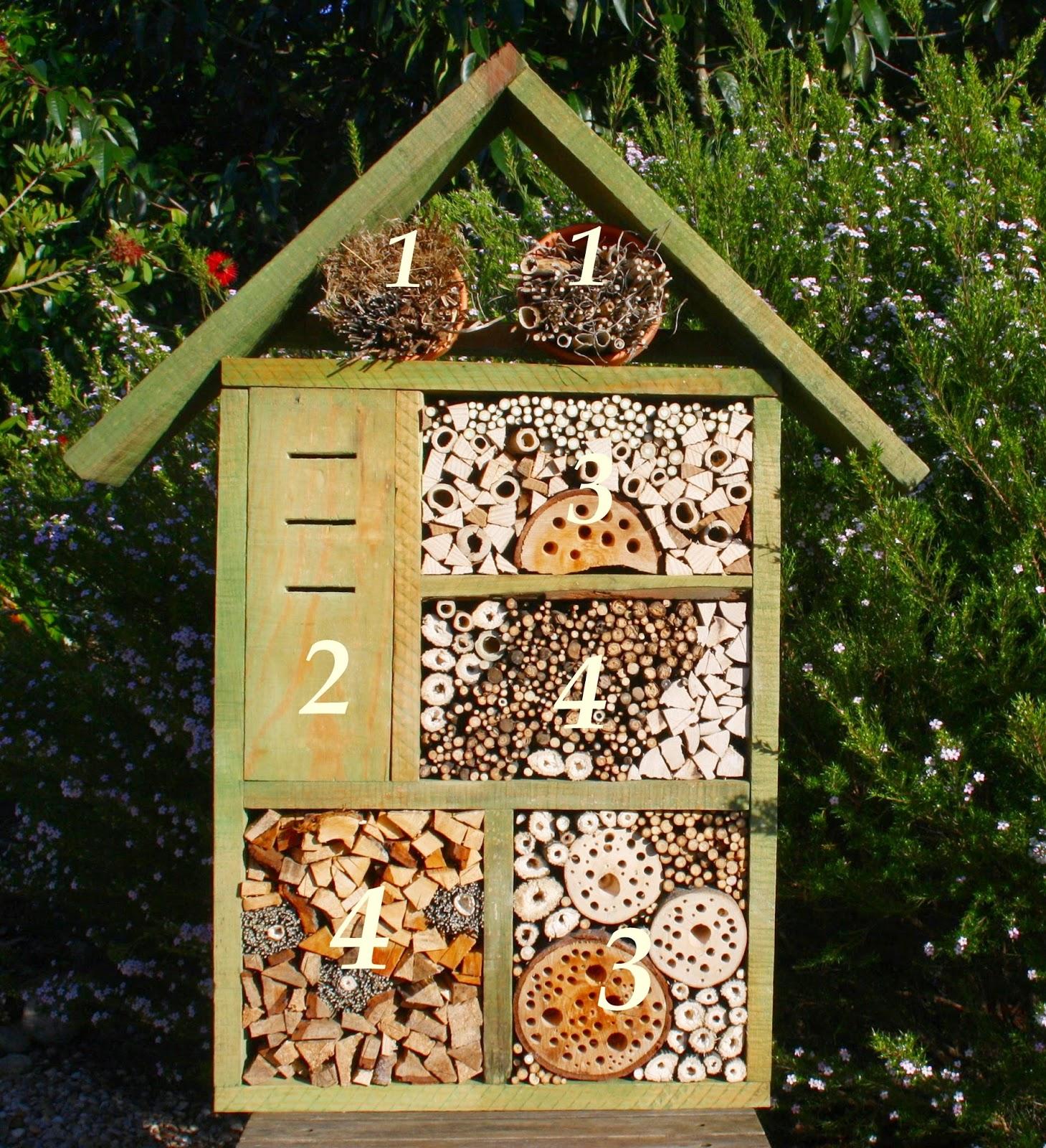 El jard n de margarita por qu instalar un hotel de for Ahuyentar abejas jardin